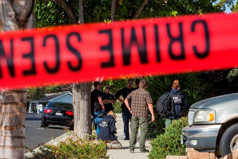 Pelaku Penembakan California Sering Kunjungi TKP