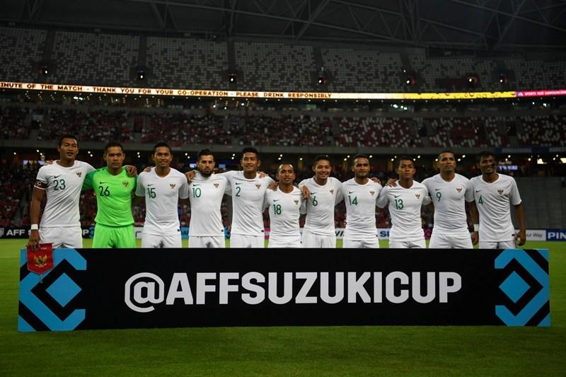 Piala AFF 2018: Timnas Indonesia Takluk di Tangan Singapura