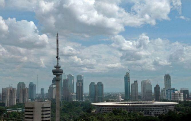 Akhir Pekan Jakarta Cerah Berawan