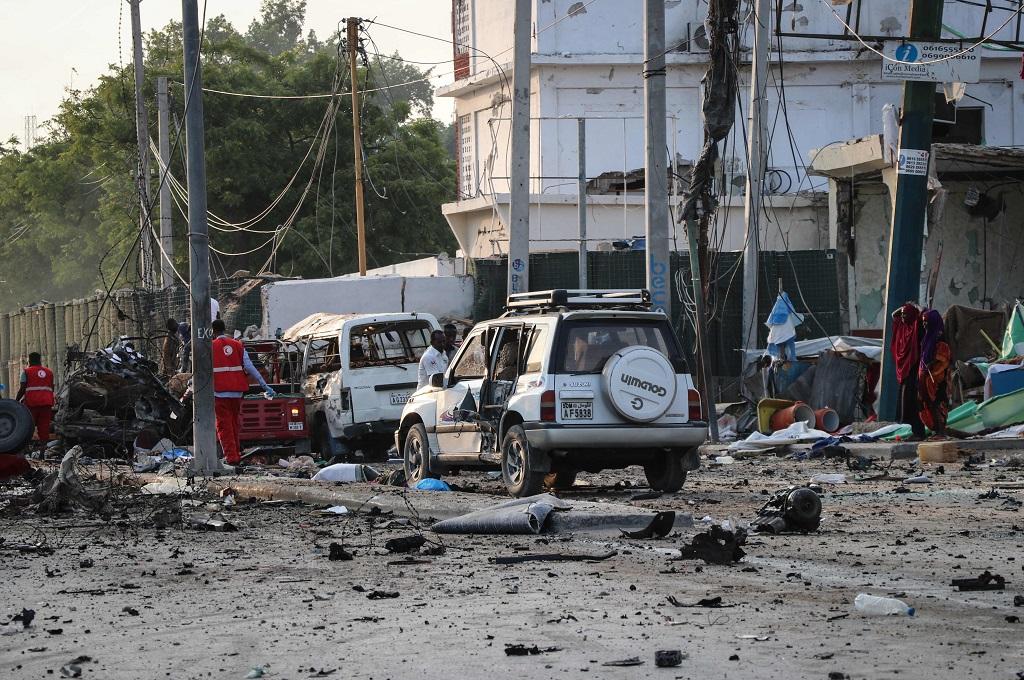 Ledakan Dekat Hotel Somalia Tewaskan 20 Orang