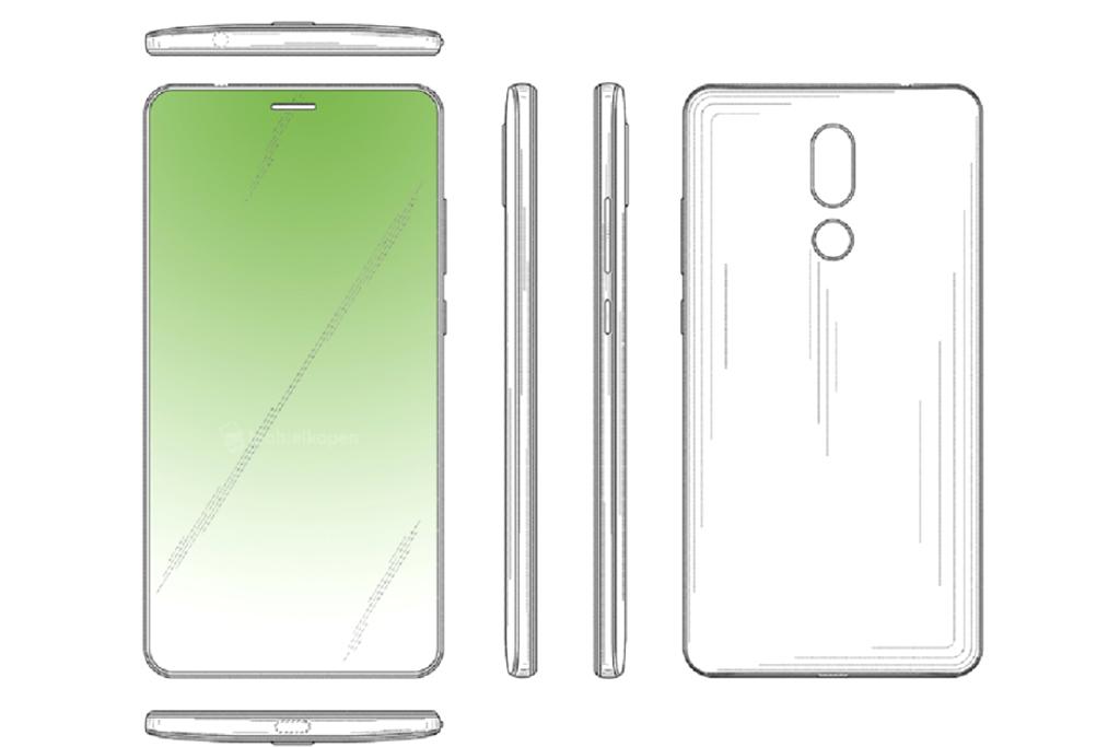 Huawei Juga Patenkan Desain Layar Berlubang