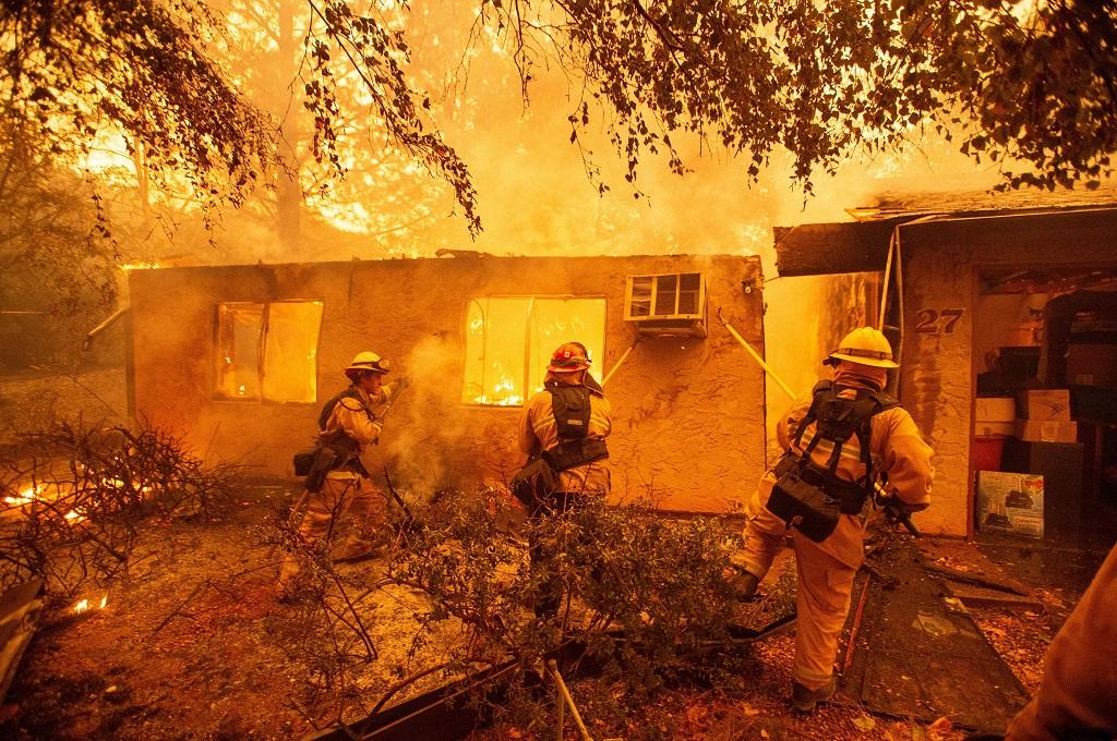Kebakaran Hutan California Tewaskan 9 Orang