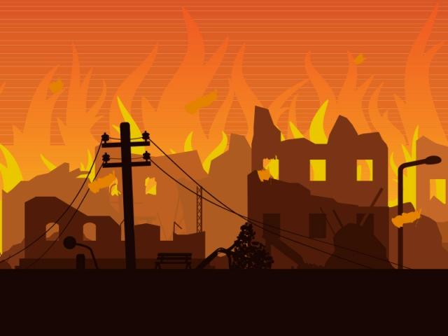 Kebakaran di Belakang Mercubuana Berhasil Dipadamkan