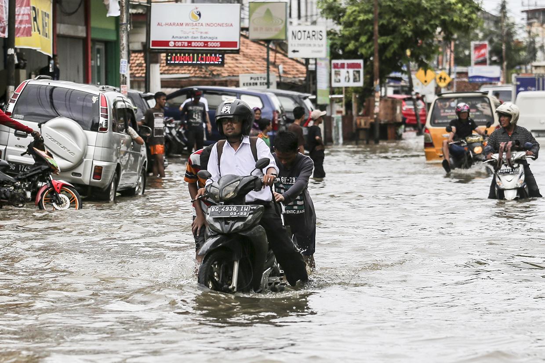 Palembang Dikepung Banjir