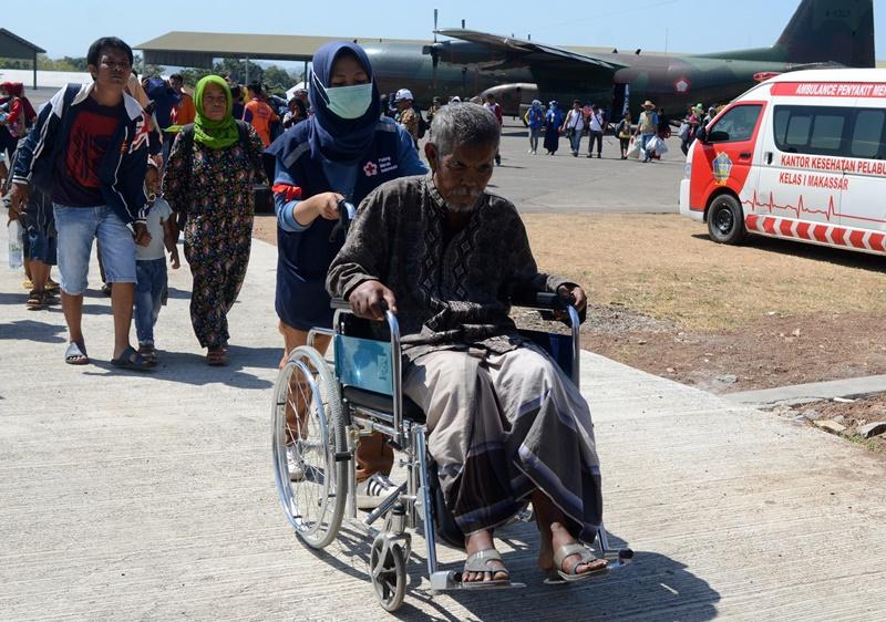 Korban Tsunami di Donggala Butuh Layanan Kesehatan di Pengungsian