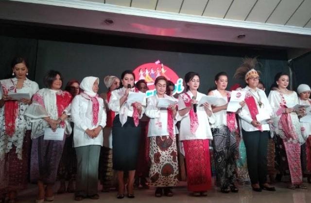 Suntikan Dukungan Perempuan Tangguh untuk Jokowi-Maruf