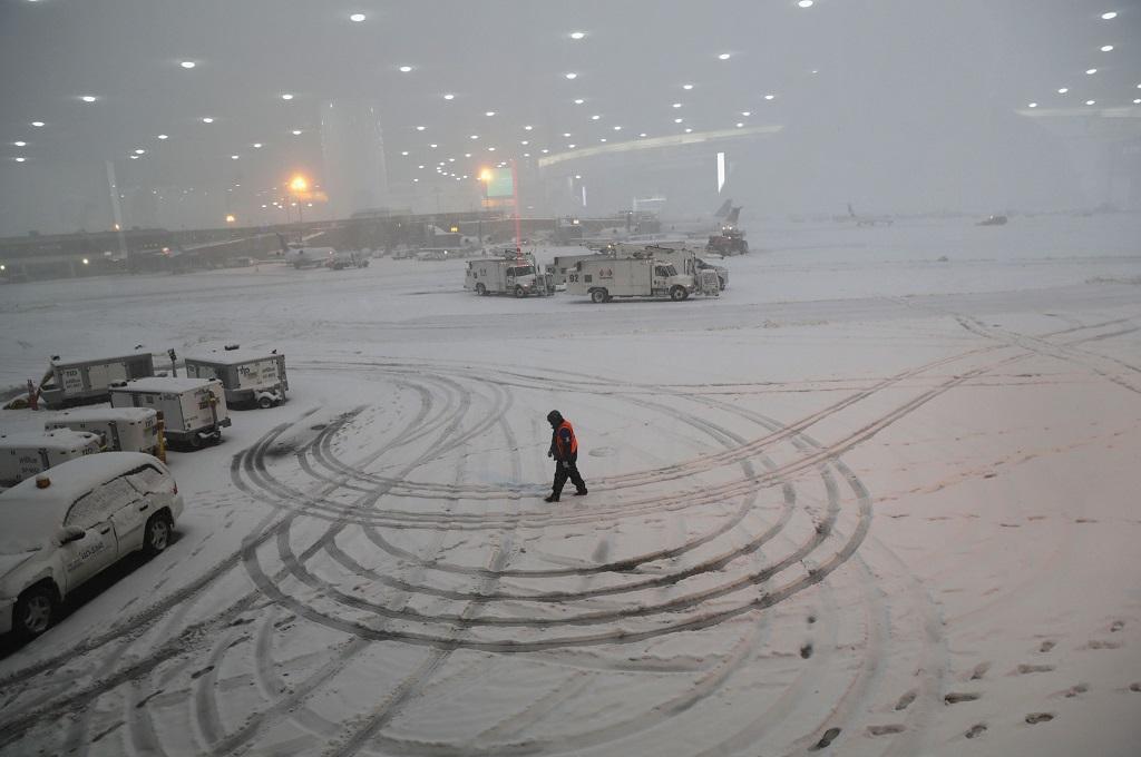 Badai Salju di AS Tewaskan Sebelas Orang