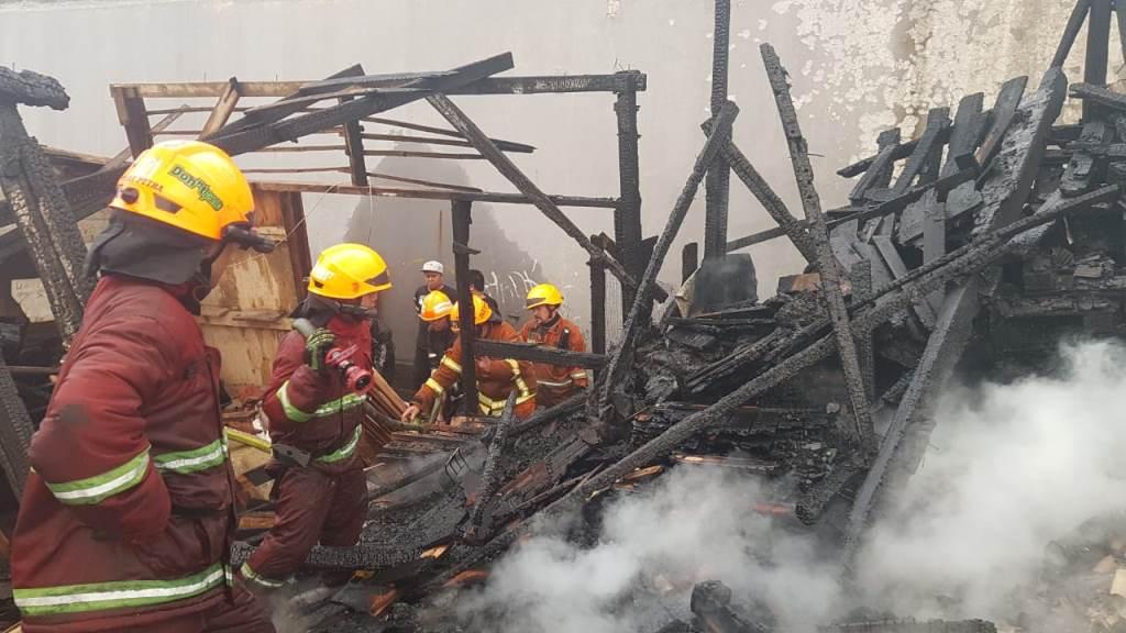 Puluhan Rumah dan Kios di Bandung Ludes Terbakar
