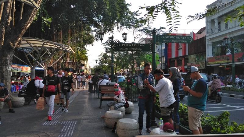 Yogyakarta Dipadati Wisatawan saat Hari 'Kejepit' Nasional