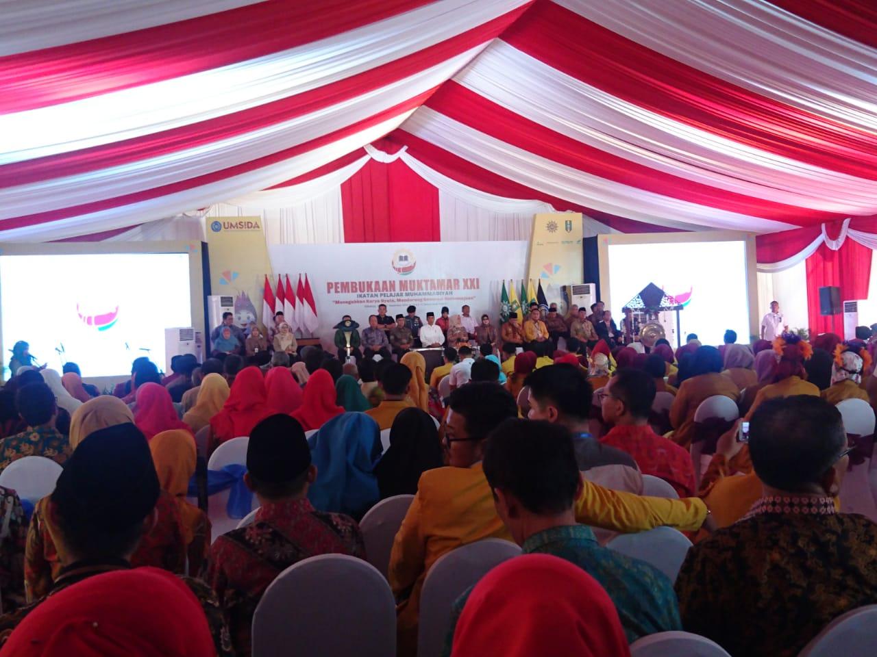 Jokowi Opens Muhammadiyah Students Association Congress