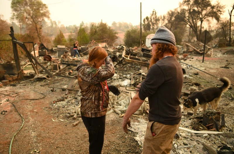 Luluh Lantak Akibat Kebakaran Hutan California