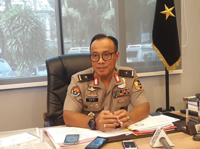 Viral Foto Polisi Dukung Prabowo-Sandi Hoaks
