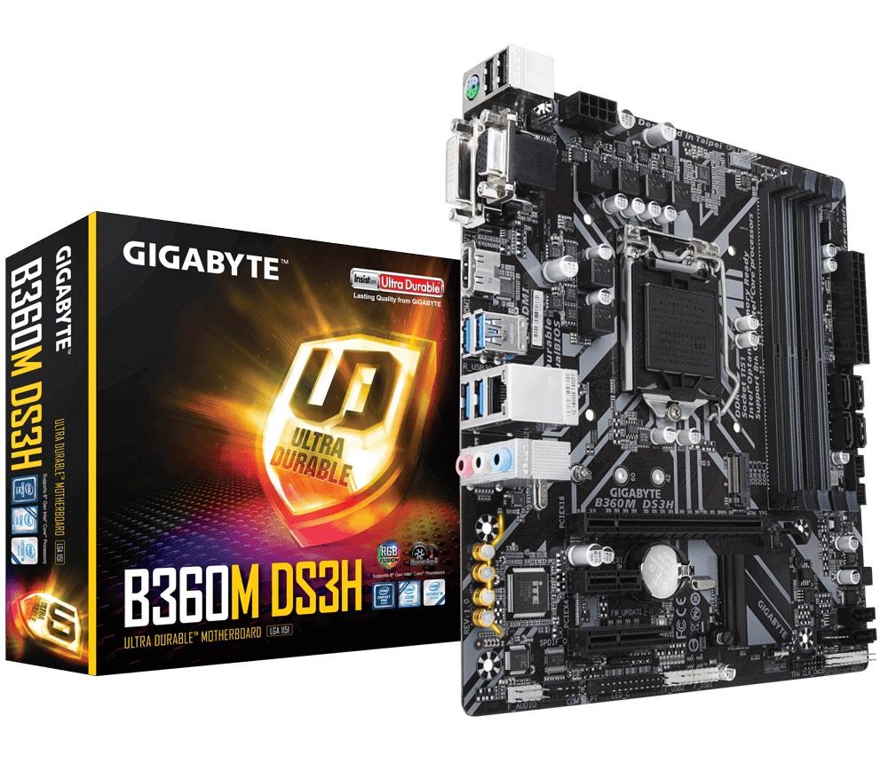 Gigabyte B360M DS3H, Kelas Terjangkau dan Mumpuni Gigabyte