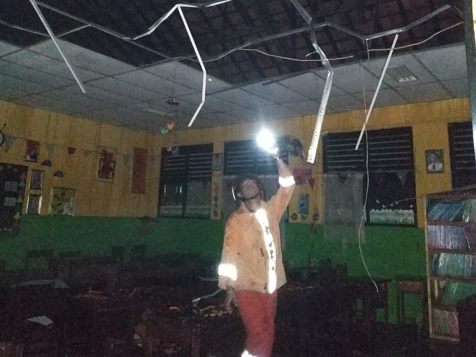 SD Negeri 3 Tangerang Terbakar