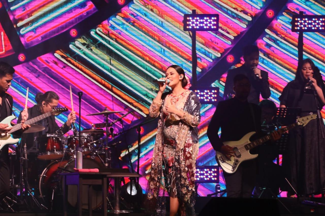 Spesial di Konser Fermata, Raisa Bawakan Lagu Baru yang Belum Dirilis