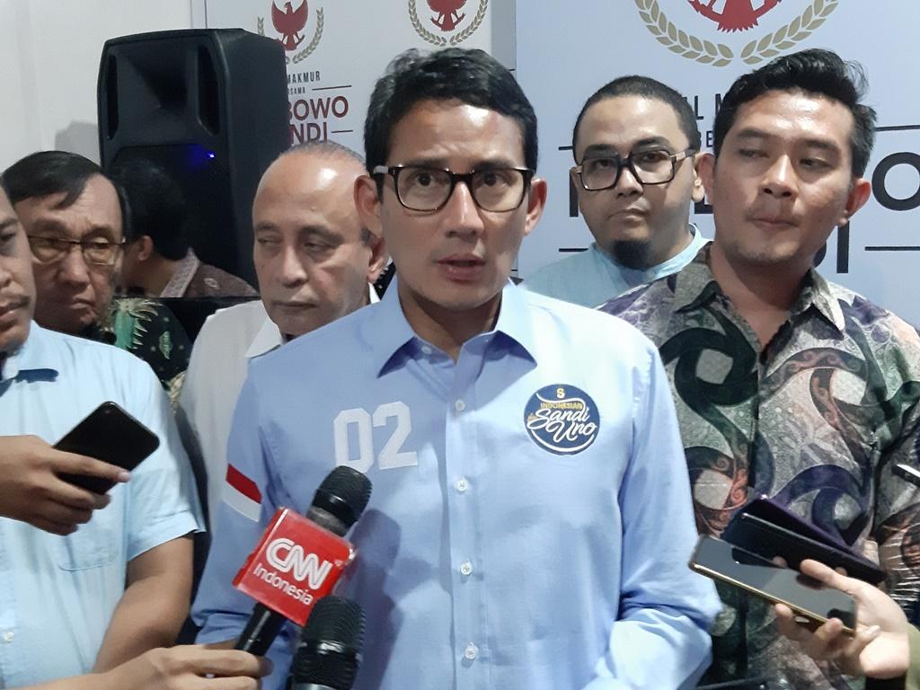 BPN Prabowo-Sandi Luncurkan Laman Resmi