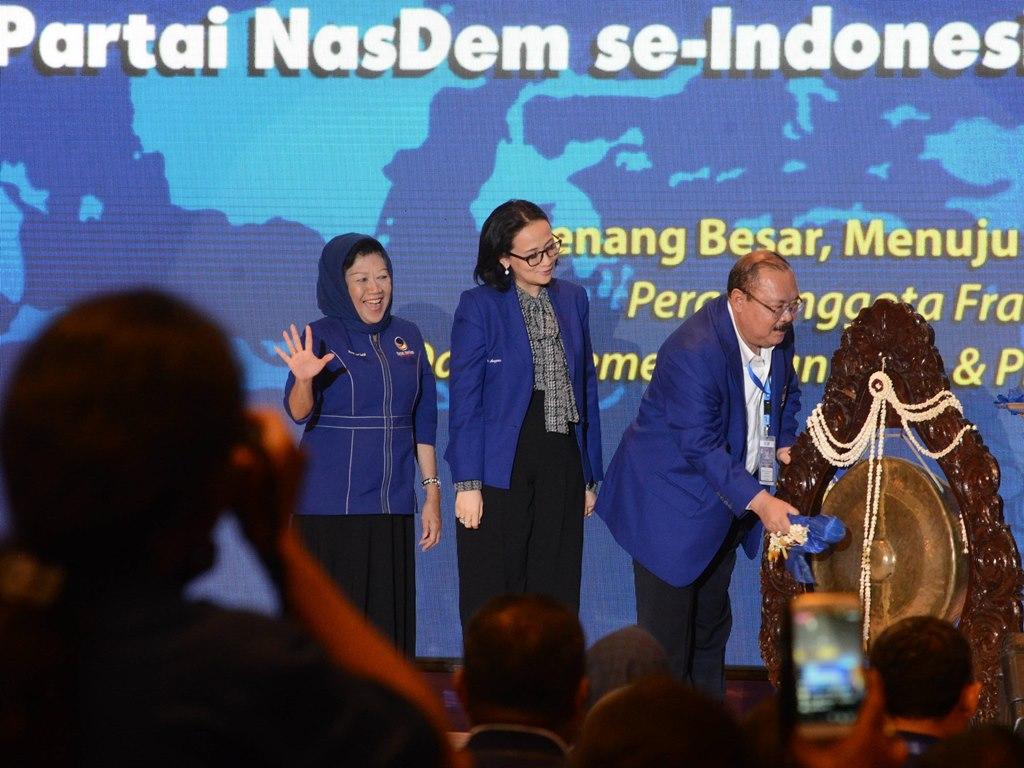 Target 100 Kursi DPR RI untuk Partai NasDem Terukur