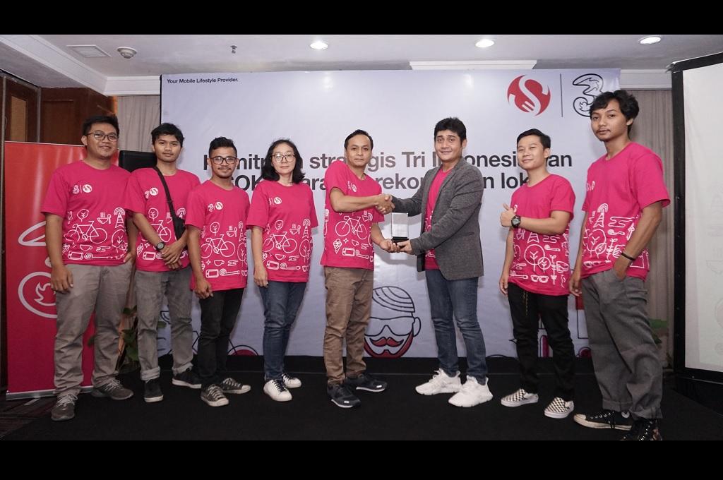 Tri Jalin Kemitraan Strategis dengan Startup SOKU