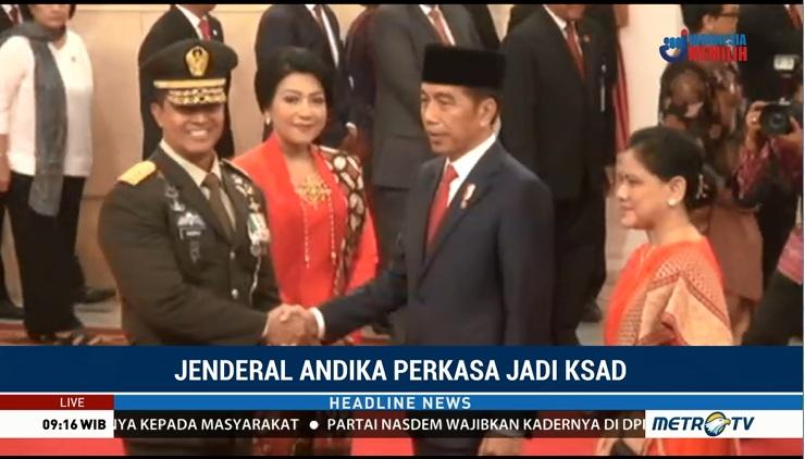 Andika Jamin TNI Matra Darat Netral