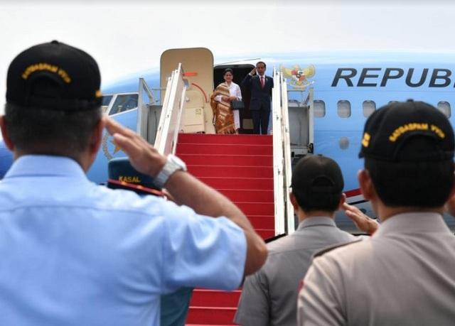 Presiden Bertolak ke Jawa Tengah