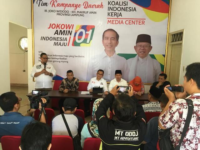 TKN dan TKD Lampung Kunjungi Kantor Media