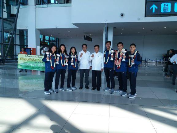 Pelajar Indonesia Tiga Besar di Kejuaraan Karate Internasional