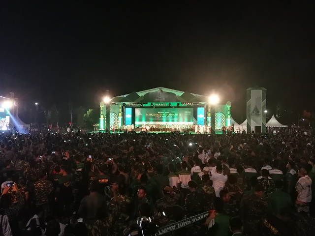 Jokowi Attends Mawlid Event in Central Java