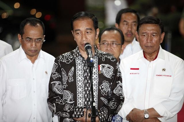 Jokowi: Pancasila Tak Bisa Digantikan Ideologi Impor