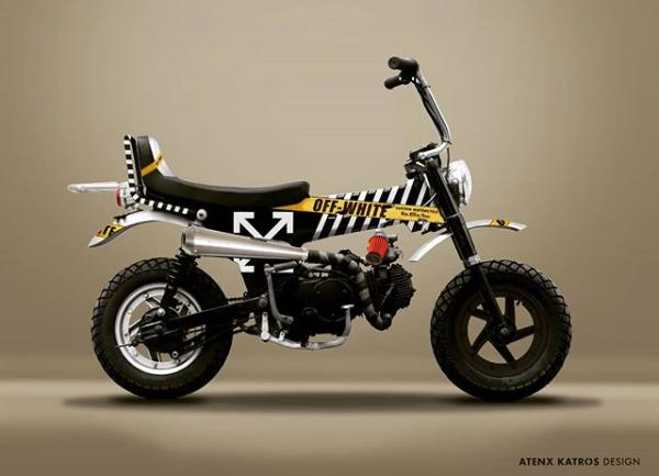 Honda Dax Hypebeast Pesanan Gibran Rakabuming