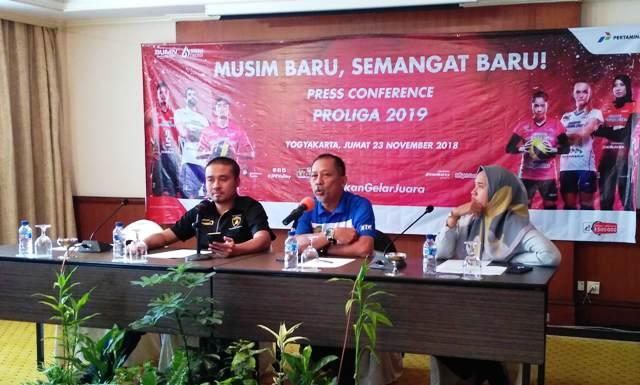 Yogyakarta Tuan Rumah Pembukaan Proliga 2019