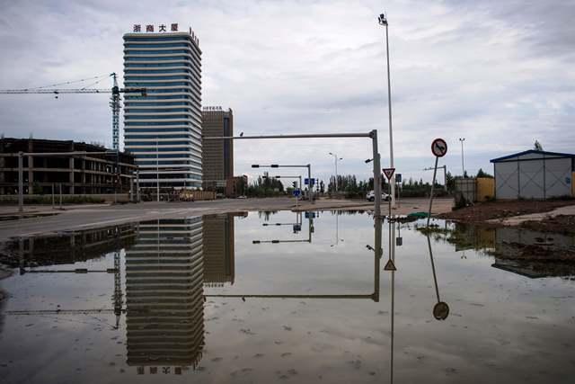 Bom Waktu Kota Hantu Tiongkok