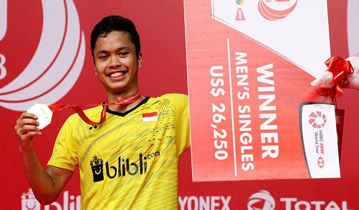 Indonesia Punya Enam Wakil untuk BWF World Tour Finals 2018