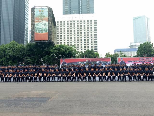 Kapolda Metro Jadi Warga Kehormatan Korps Brimob