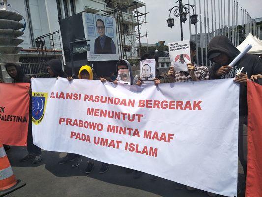 Sejumlah Pendukung Prabowo Menarik Dukungan