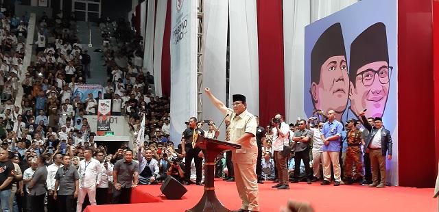 Klaim Prabowo Soal Pengancaman Elite Tak Berdampak Elektoral