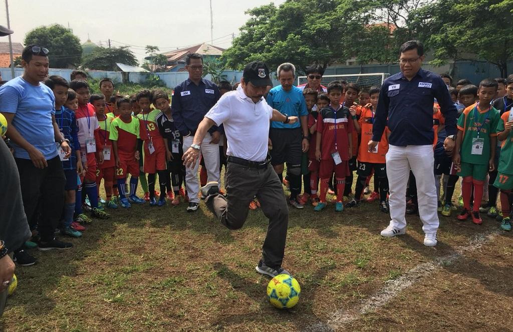 Pembentukan Karakter Anak Lewat Festival Sepak Bola U-12