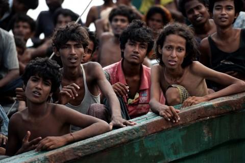 Pengungsi Rohingya Kagumi Demokrasi Indonesia