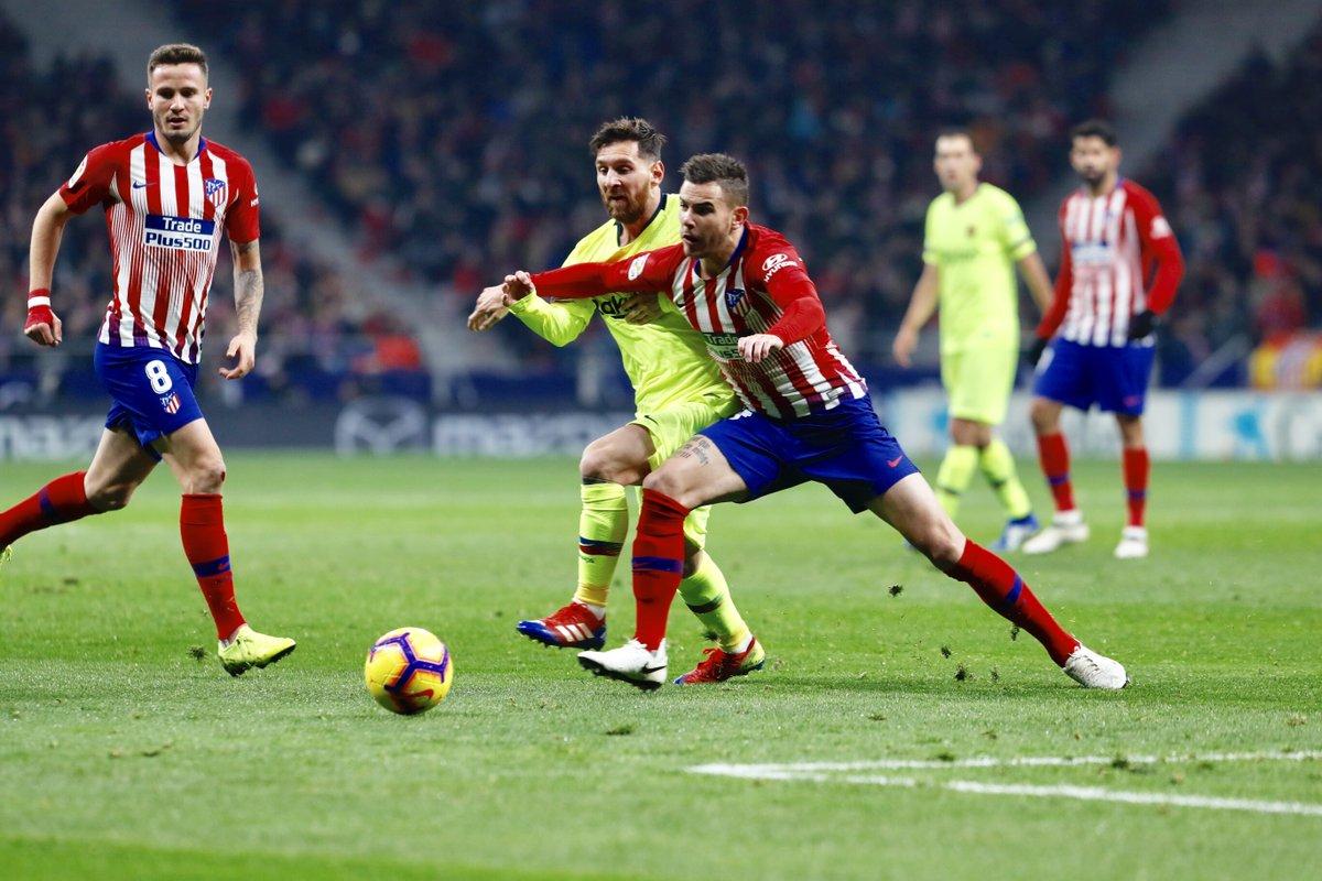 Gol Dembele Selamatkan Barcelona dari Kekalahan atas Atletico