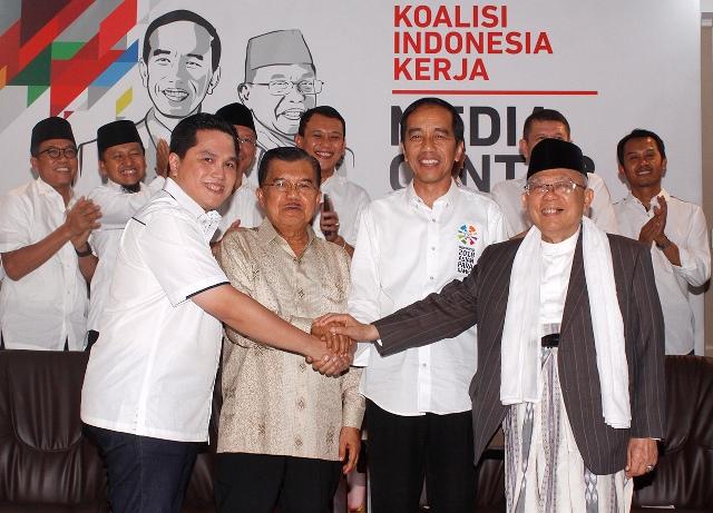 Dukung Jokowi tanpa Ancaman