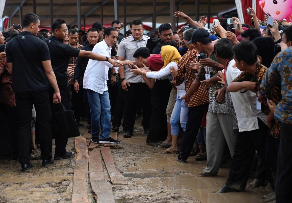 Presiden Kunjungan Kerja ke Palembang
