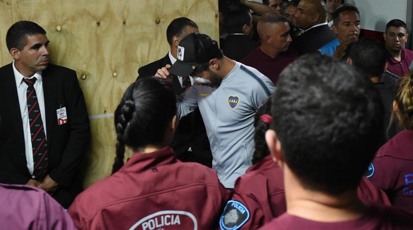 Miris, Penyerangan Bus Sebabkan Tiga Pemain Boca Juniors Masuk RS