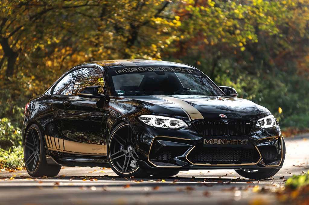 BMW M2 Competition Bertenaga Monster Garapan Manhart