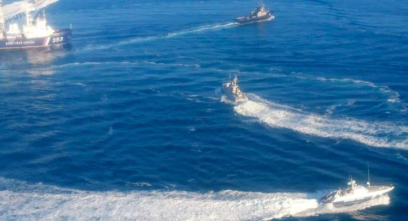 Rusia Tegaskan Tahan Tiga Kapal Angkatan Laut Ukraina
