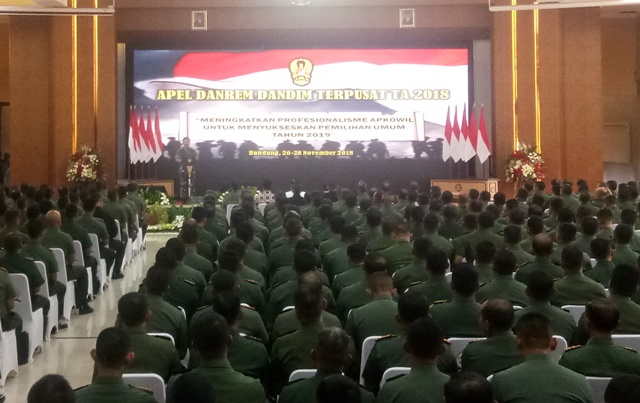 Presiden Berikan Pembekalan pada 510 Anggota TNI