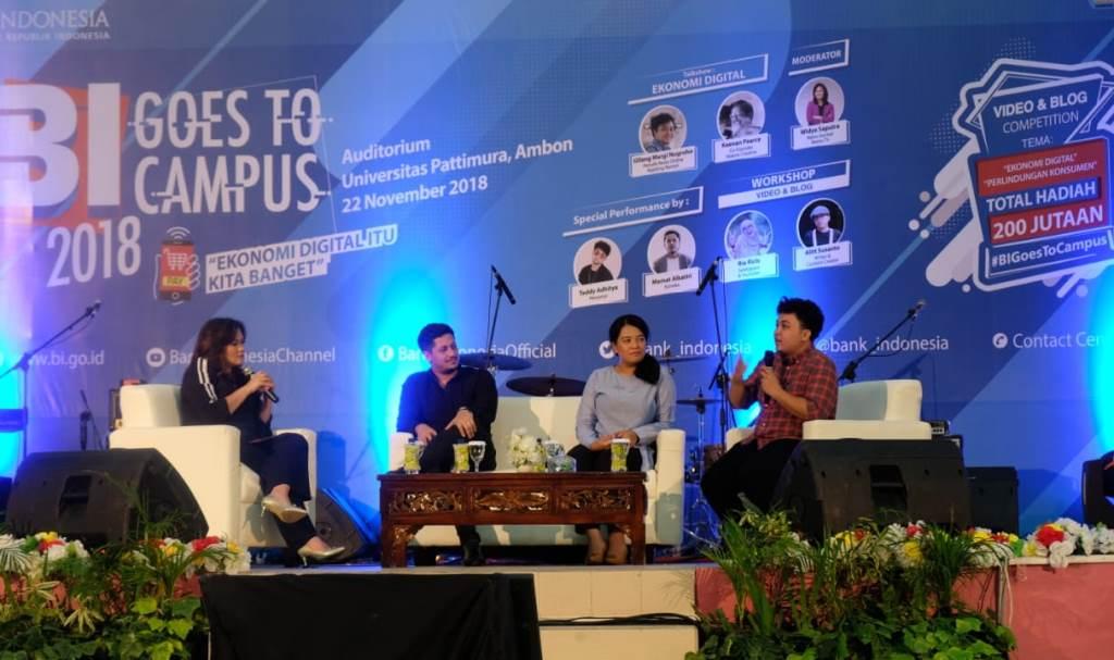 Upaya BI Memaksimalkan Ekonomi Digital di Ambon