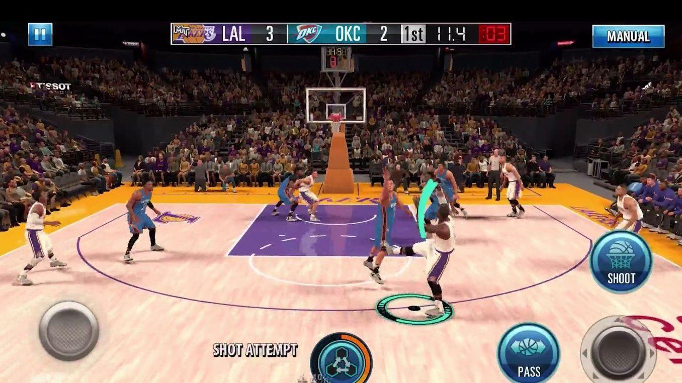 Game NBA 2K Mobile Siap Main di iOS