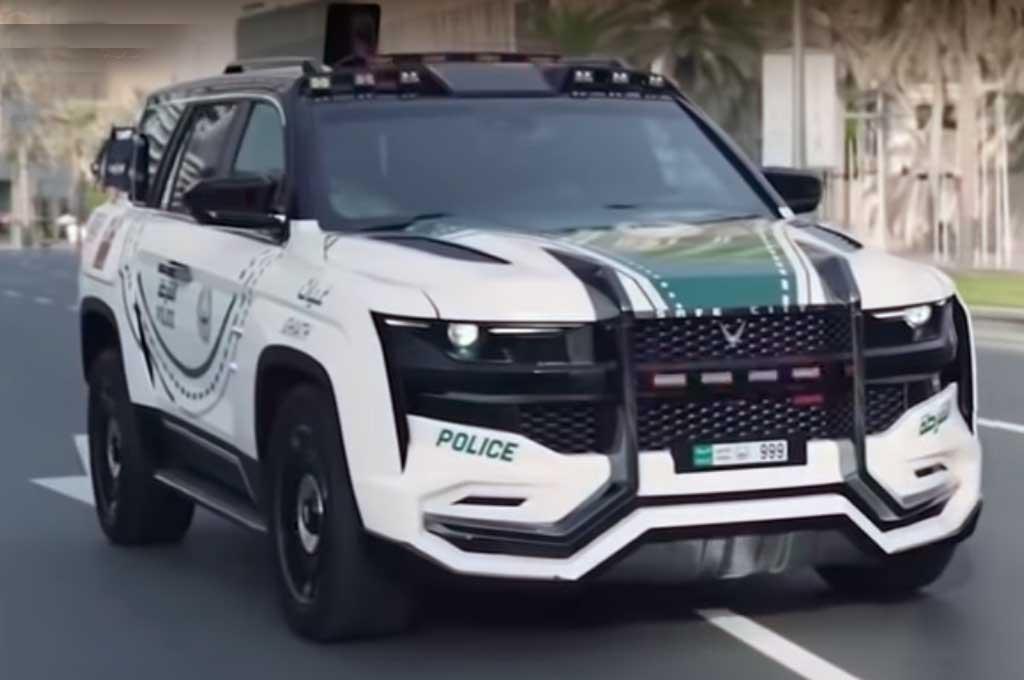 Giath, Mobil Baru Polisi Dubai nan Canggih