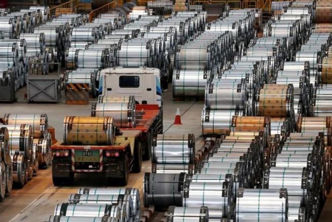 Industri Besi dan Baja Tiongkok Tumbuh Solid