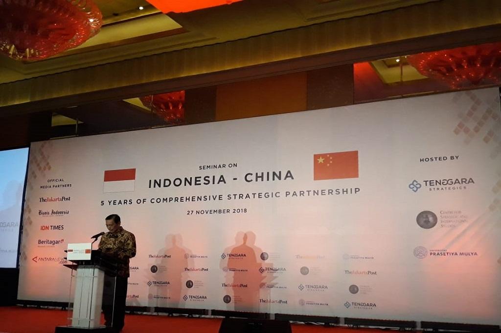 Luhut Tegaskan Indonesia tak Bergantung pada Tiongkok