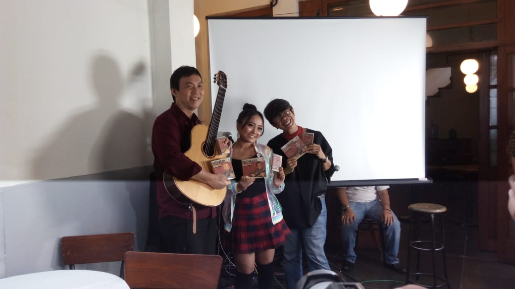Jubing Kristianto Bangkitkan Lagu-Lagu Hit JK Records di Album Kasmaran